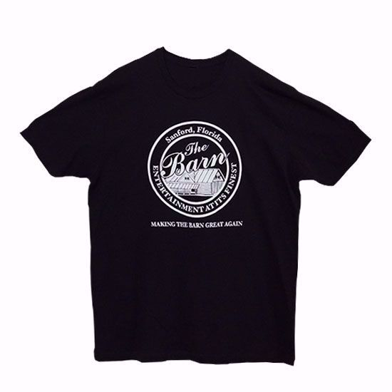Picture of The Barn in Sanford T-Shirt - Black